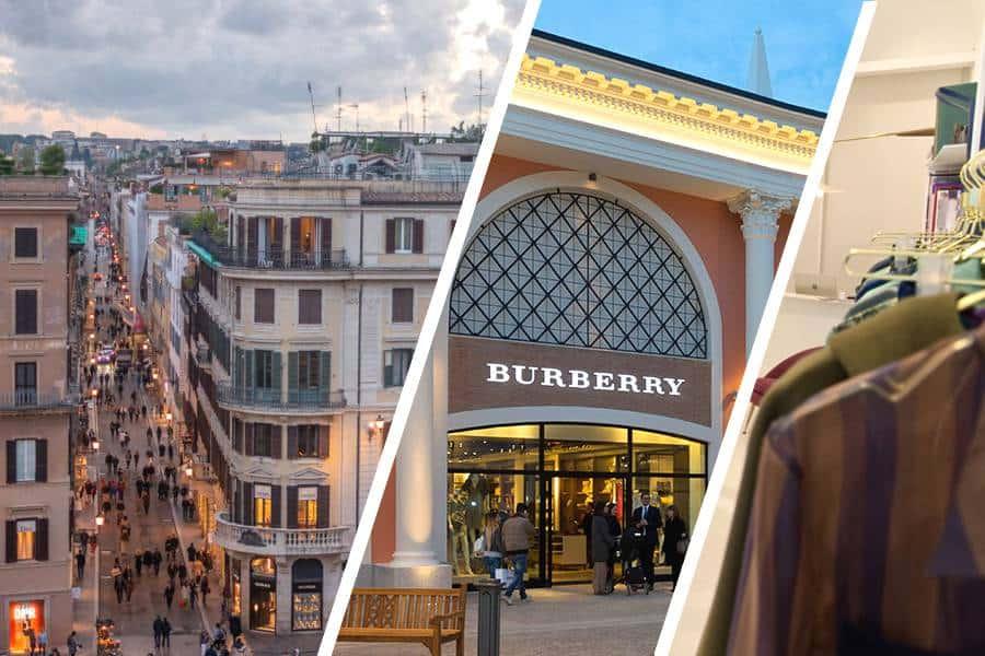 Shopping a Roma, tour nelle migliori boutique ed outlet village