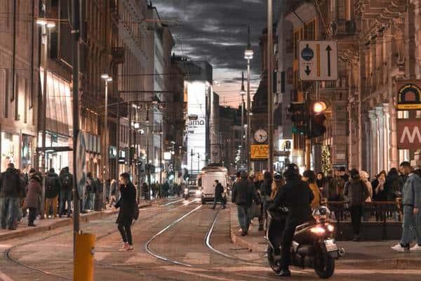 Vita notturna a Milano
